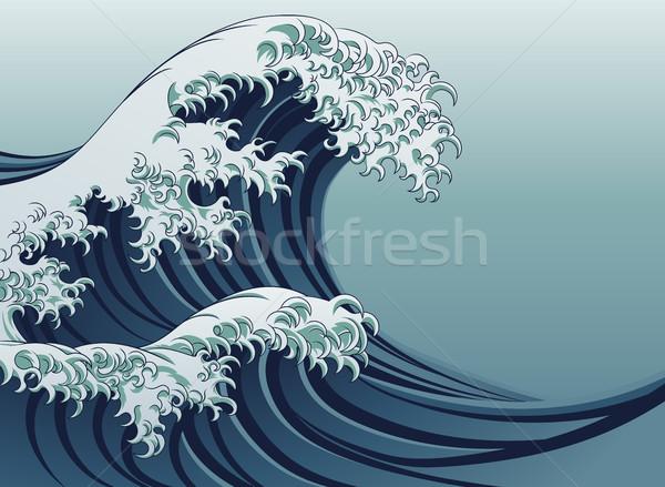 Great Wave Stock photo © Krisdog