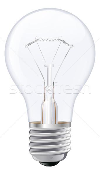 Light bulb illustration Stock photo © Krisdog