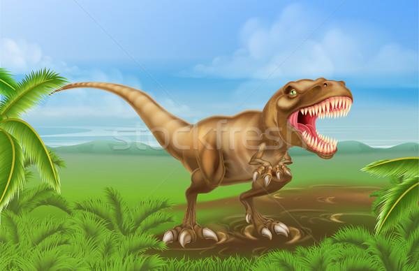 Tyrannosaurs Rex Dinosaur Stock photo © Krisdog