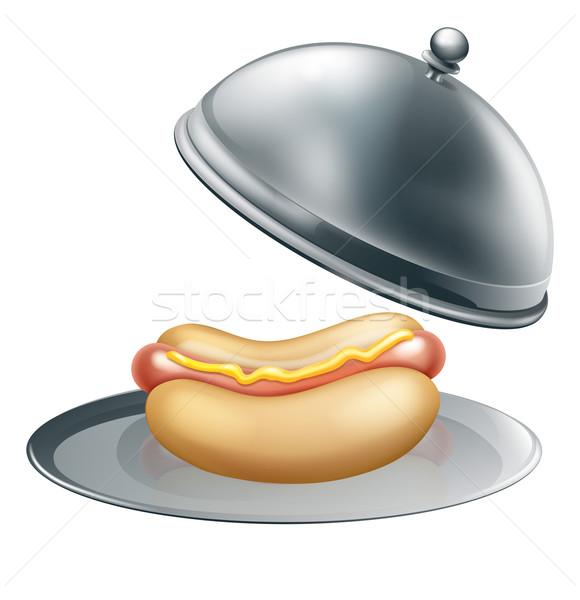 Hotdog Gourmet Concept Stock photo © Krisdog