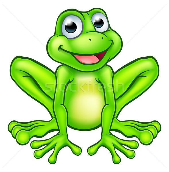 Cartoon Frog Stock photo © Krisdog