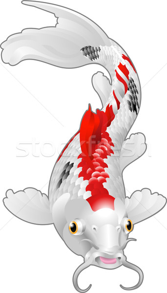 ニシキゴイ 鯉 オリエンタル 魚 美しい ストックフォト © Krisdog