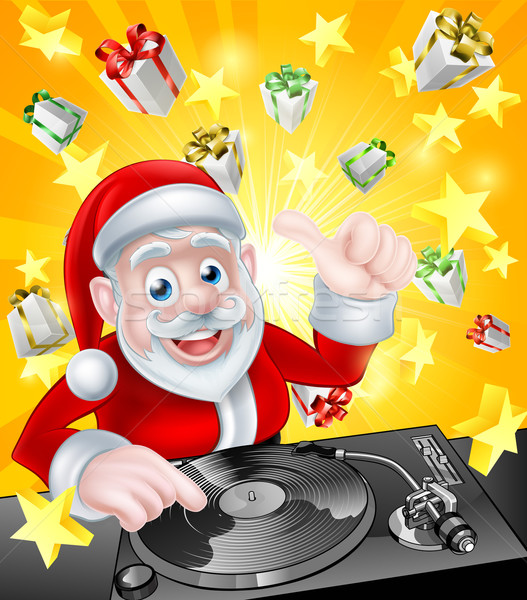 Disco Santa Stock photo © Krisdog