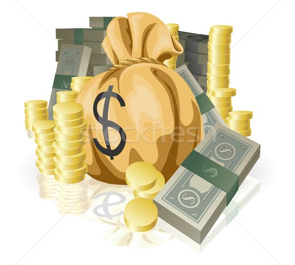 Lots of money Stock photo © Krisdog