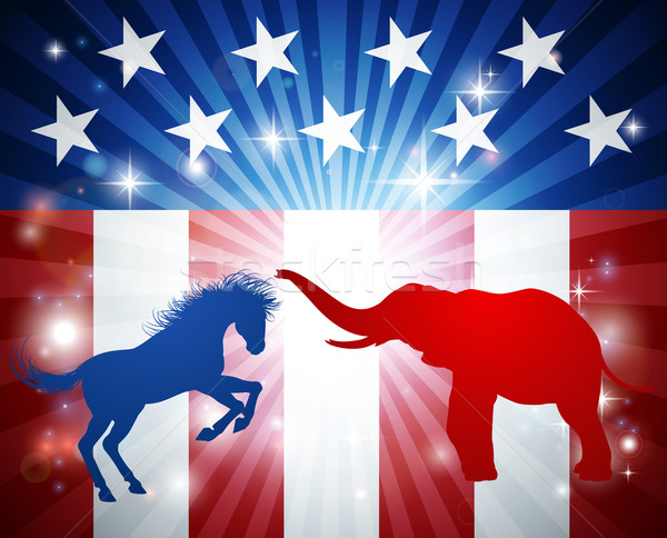 American Election Concept Stock photo © Krisdog