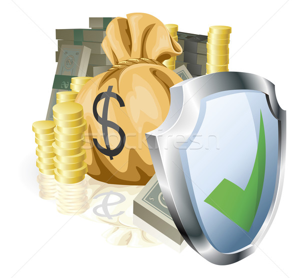 Stock photo: Secure money concept