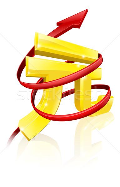 Stock photo: Rising Yuan or profits