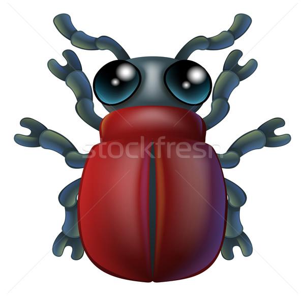 漫画 昆虫 バグ 文字 実例 幸せ ストックフォト © Krisdog