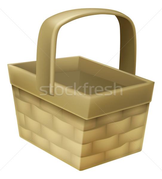 Wicker Basket Stock photo © Krisdog