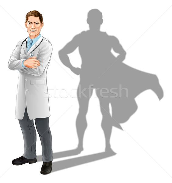 Hero Doctor Stock photo © Krisdog