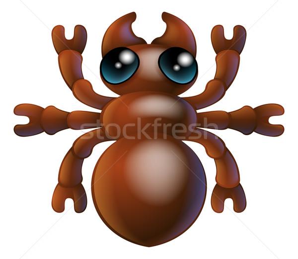 Rajz rovar hangya rovar illusztráció karakter Stock fotó © Krisdog
