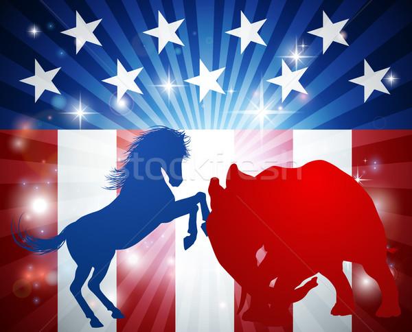 American Election Concept Stock photo © Krisdog
