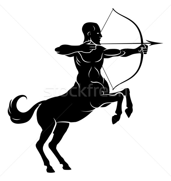 Rearing Centaur Archer Stock photo © Krisdog