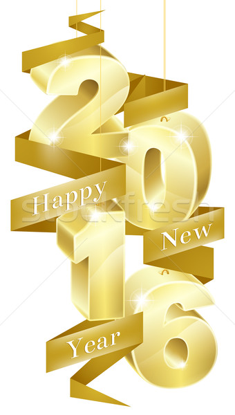 New Year 2016 Concept Stock photo © Krisdog