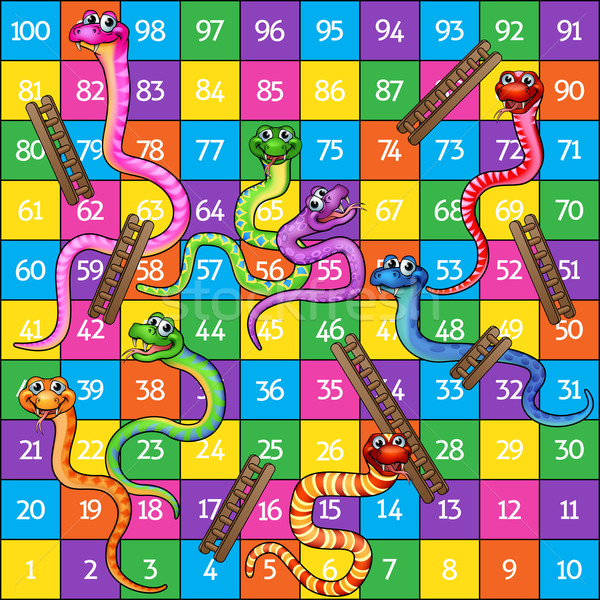 Snakes and Ladders Stock photo © Krisdog