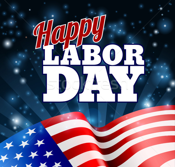 Happy Labor Day Design Stock photo © Krisdog