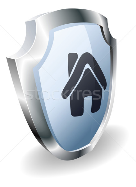Stock photo: House shield concept