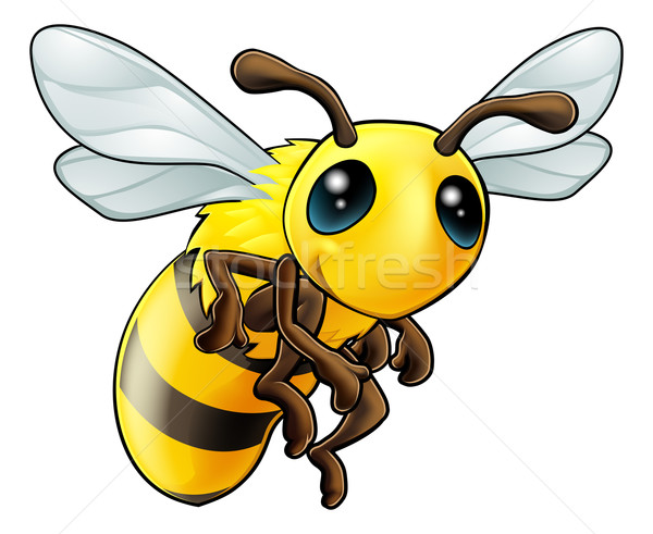 Cute Bee Character Stock photo © Krisdog