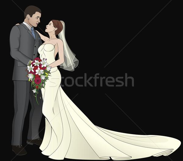 Bride and Groom Stock photo © Krisdog