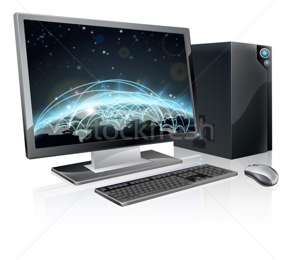 Мир мира иллюстрация Desktop ПК Сток-фото © Krisdog