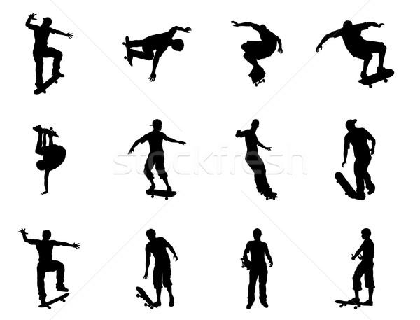 катание скейтбордист высокий качество Сток-фото © Krisdog