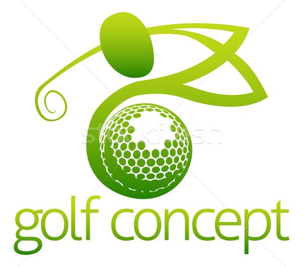 Golf concept Stock photo © Krisdog