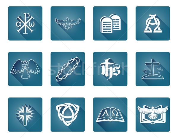 Christian Icon Symbols Stock photo © Krisdog