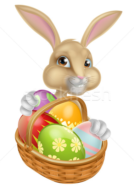 Cartoon Easter Bunny Rabbit Stock photo © Krisdog