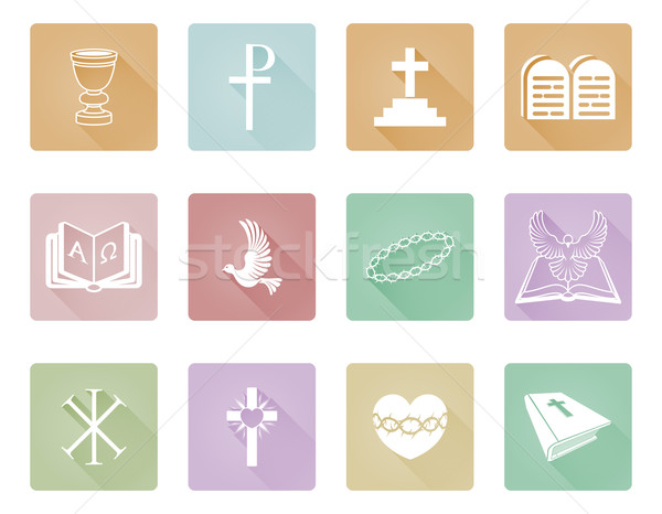 Religious Christian Icons Stock photo © Krisdog