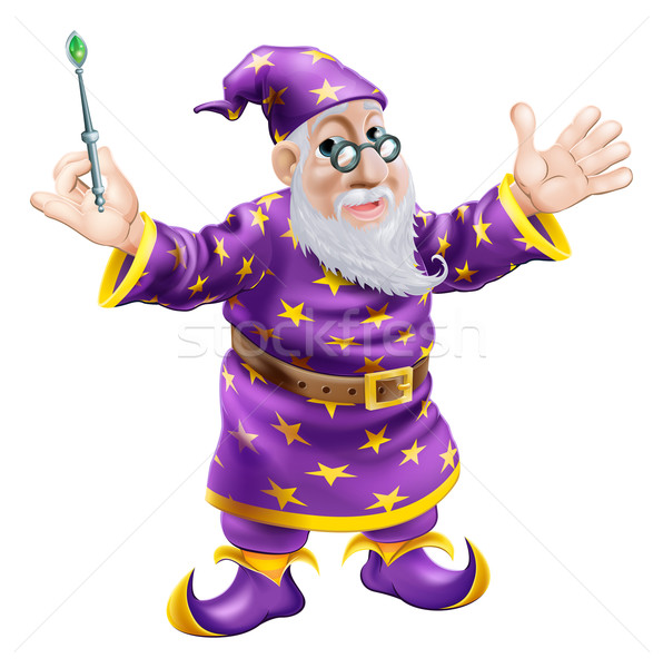 Wizard with Wand Stock photo © Krisdog