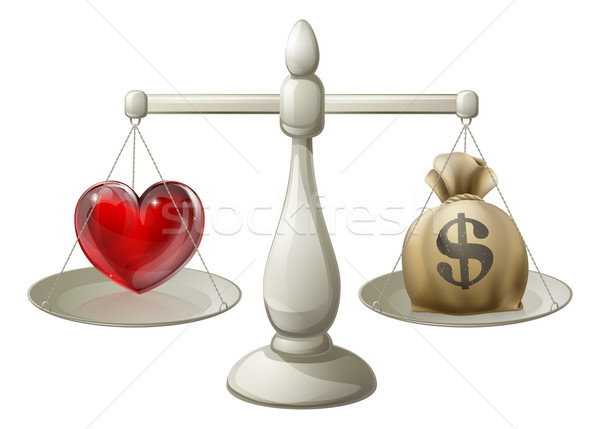 Love or money concept Stock photo © Krisdog