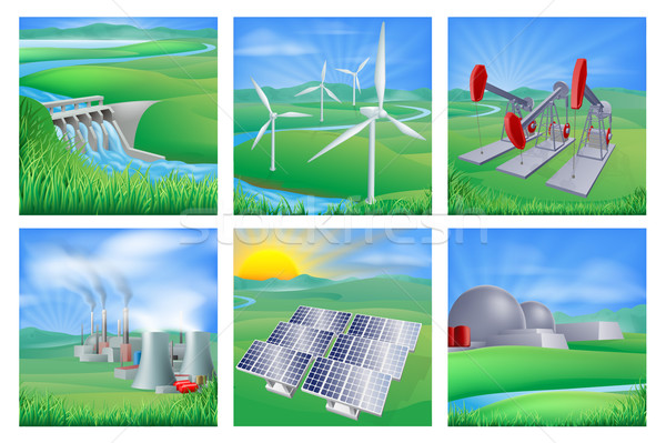 Power and Energy Sources Stock photo © Krisdog
