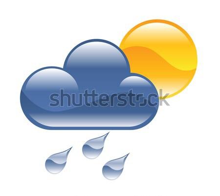 rain illustration Stock photo © Krisdog