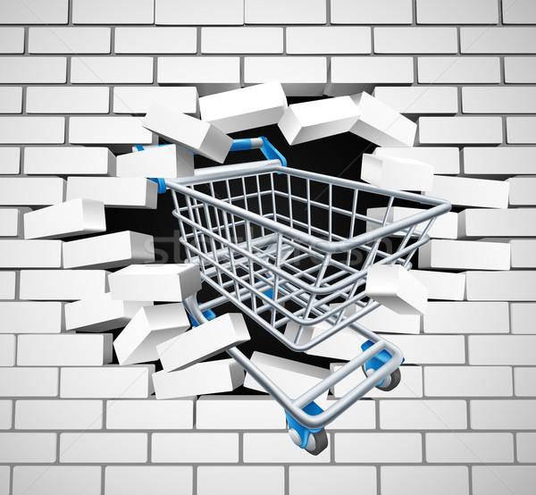 Shopping Cart Trolley Concept Stock photo © Krisdog