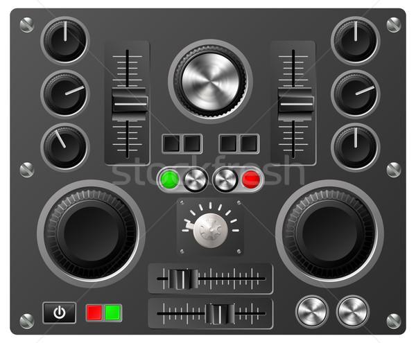 Sound board or studio controls Stock photo © Krisdog