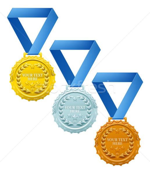 три бронзовый серебро золото Сток-фото © Krisdog