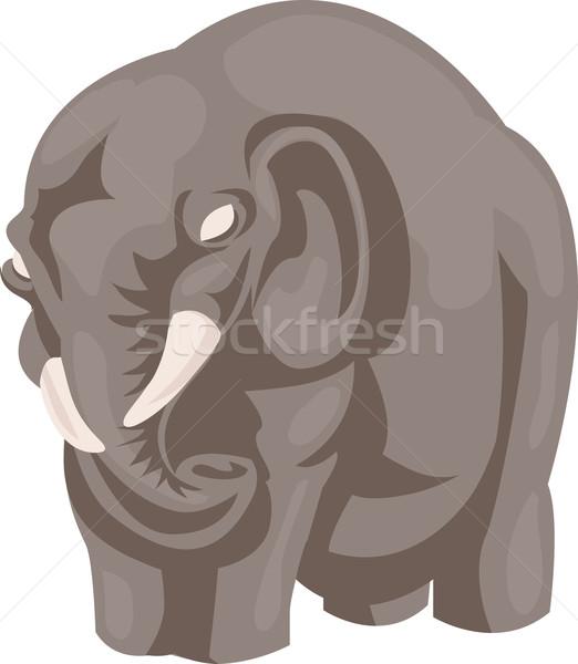 Elephant Stock photo © Krisdog