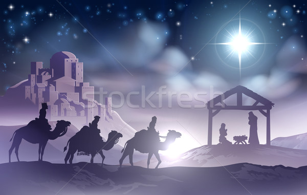 Nativity Scene Stock photo © Krisdog