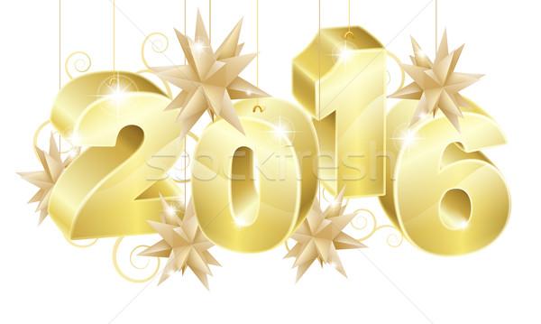 2016 New Year Background F4 2015 Stock photo © Krisdog