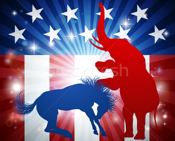 Stock photo: American Election Concept