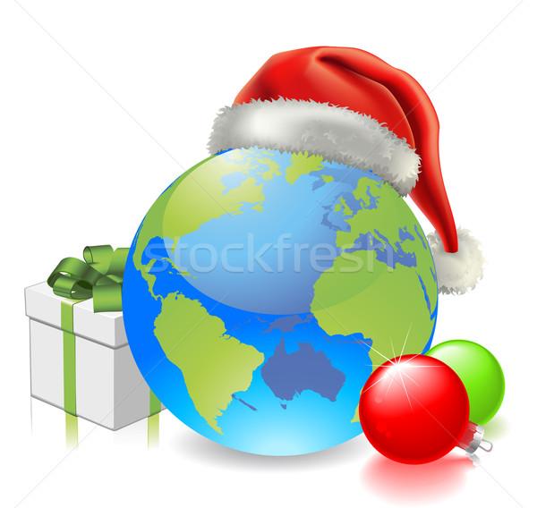 Christmas Globe Stock photo © Krisdog
