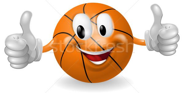 Basket Ball Mascot Stock photo © Krisdog