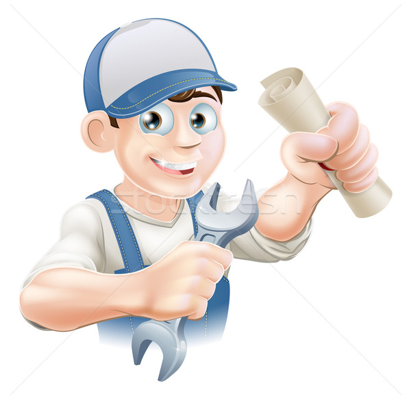 Plumber Training Stock photo © Krisdog