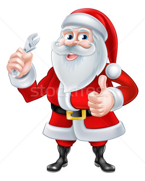 Santa Plumber Concept Stock photo © Krisdog
