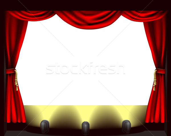 Theatre stage Stock photo © Krisdog