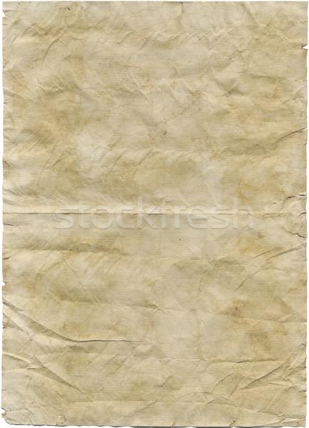 Antieke papier geen klonen achtergrond oranje Stockfoto © Krisdog