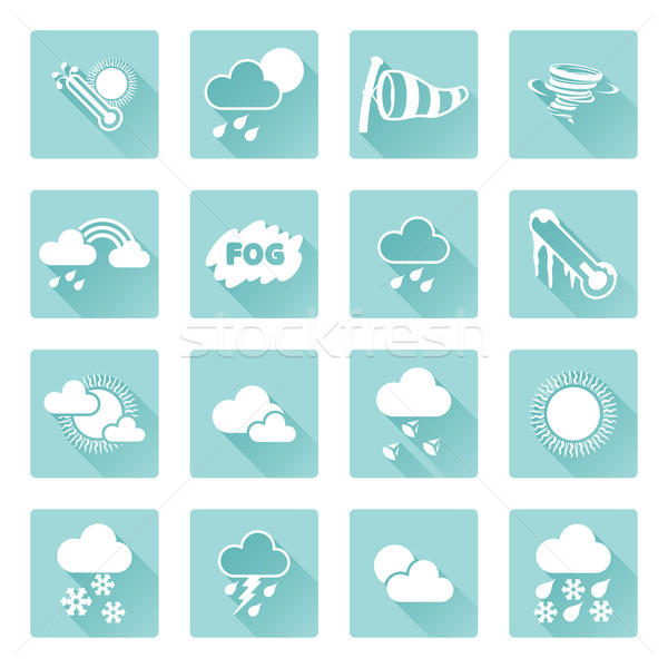Weather Icons Stock photo © Krisdog