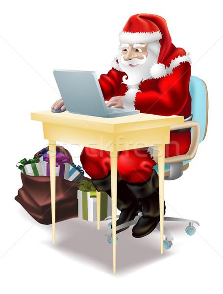 サンタクロース 店 を 実例 父 クリスマス ストックフォト © Krisdog