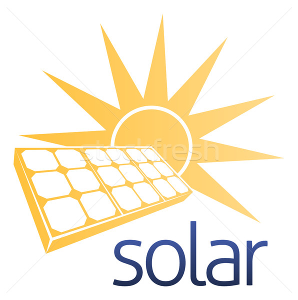 Solar Power Panel Concept Stock photo © Krisdog