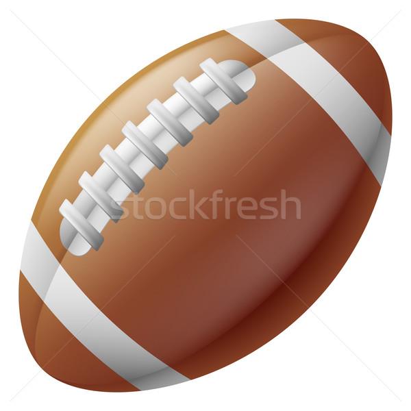 アメリカン サッカー ボール 実例 伝統的な スポーツ ストックフォト © Krisdog